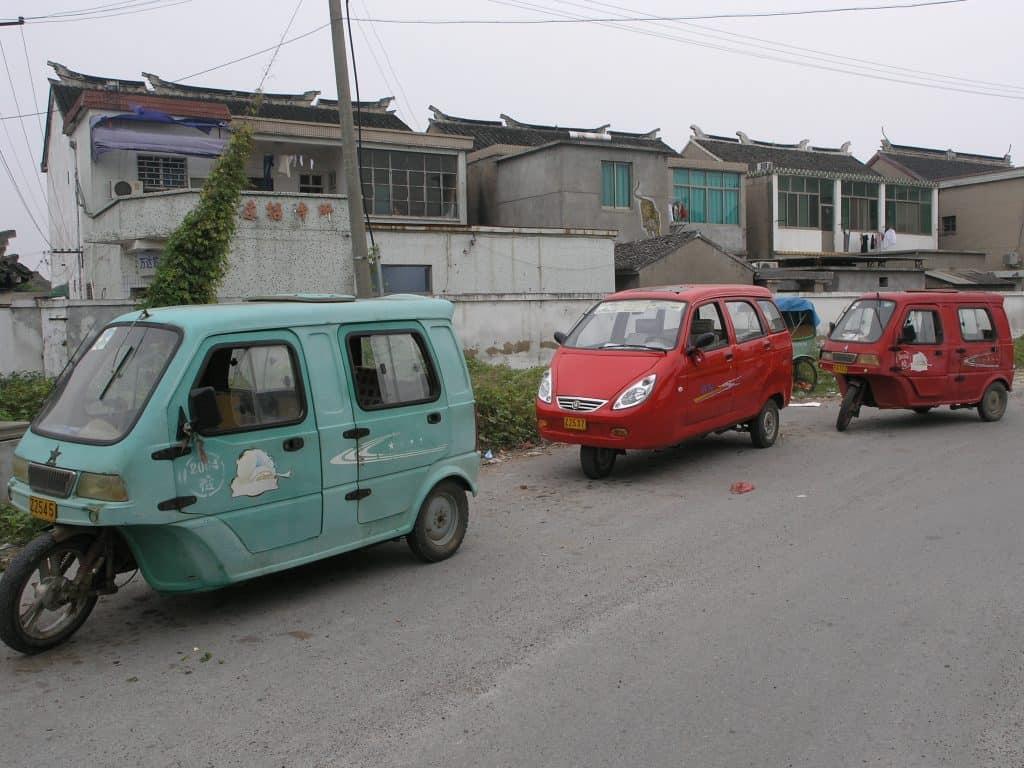 Tongli taxis
