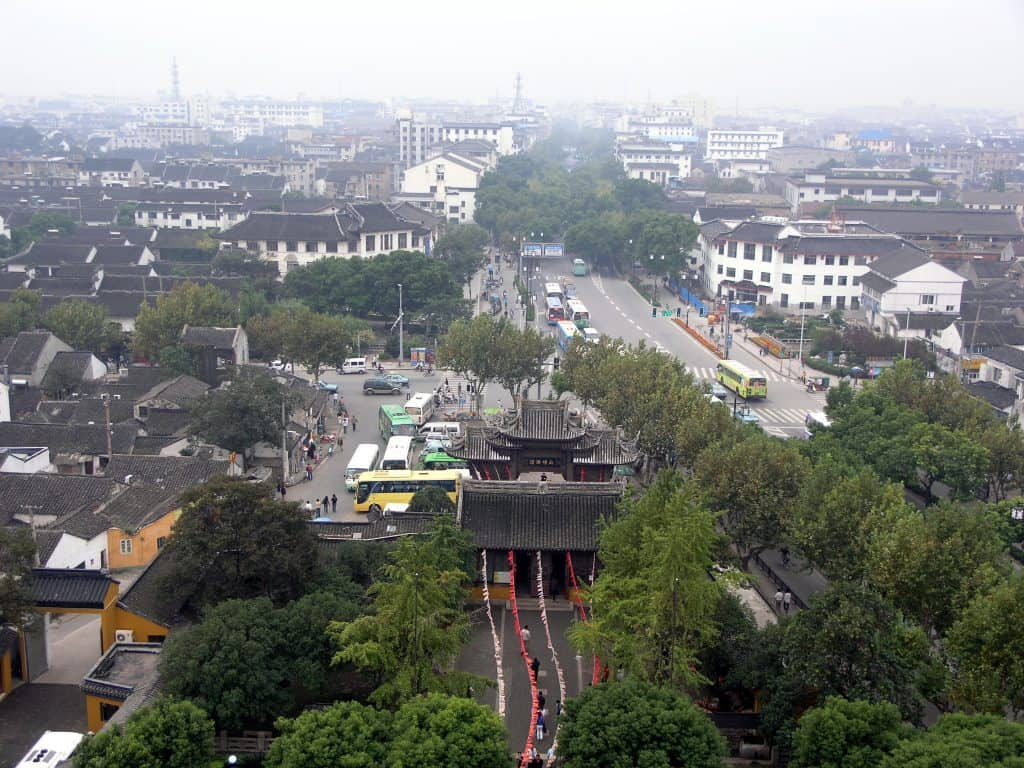 View from north Pagoda, Suzhou