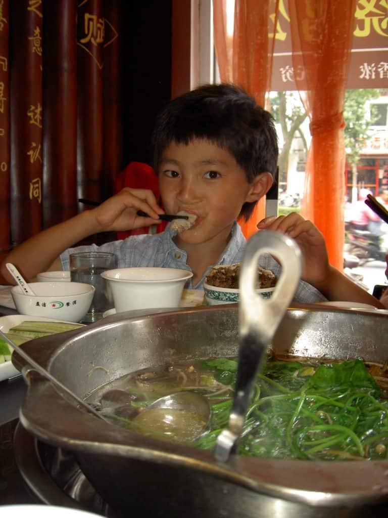 Chinese hop pot, Suzhou