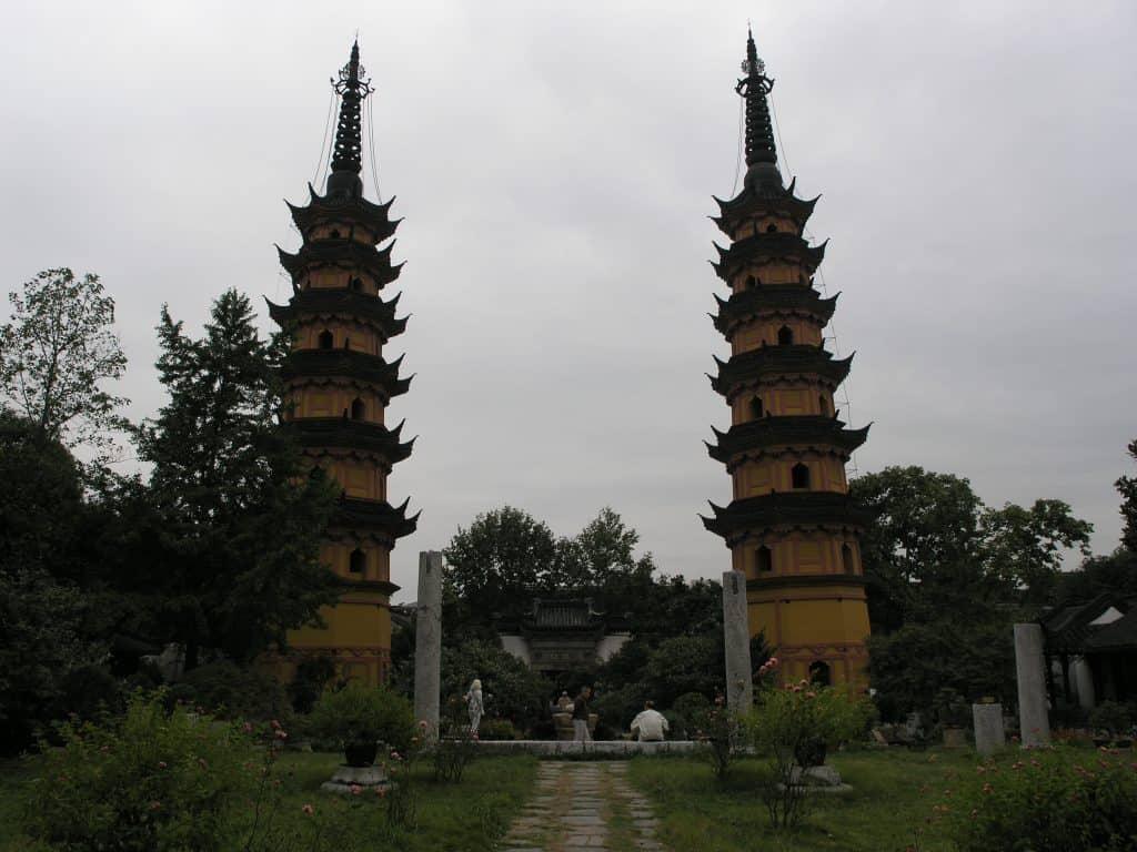 Twin Pagoda, Suzhou